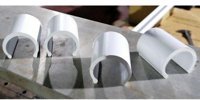 Marco Arezio - Consulente materie plastiche - Granulo in PVC Riciclato per Clip di Fissaggio teli per Serre