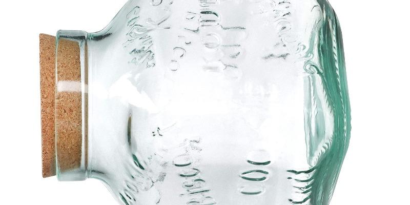 Marco Arezio - Consulente materie plastiche -  Biscottiera in vetro riciclato 4