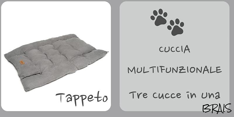 Marco Arezio - Consulente materie plastiche -  Cuccia in cotone riciclabile 5