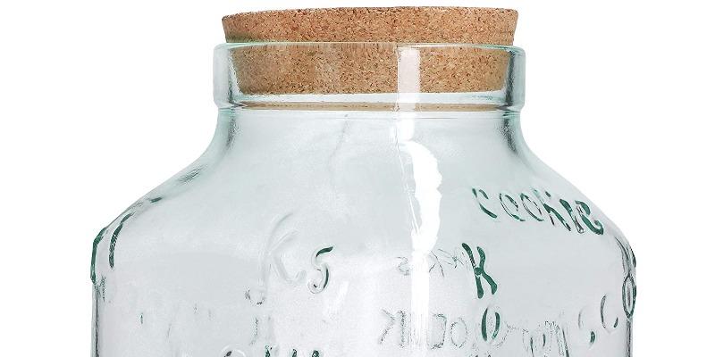Marco Arezio - Consulente materie plastiche - Biscottiera in vetro riciclato 1
