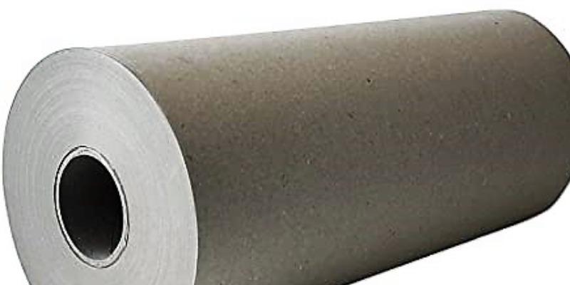 Marco Arezio - Consulente materie plastiche - Rotolo di carta da imballo riciclata