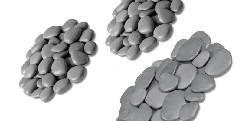 Marco Arezio - Consulente materie plastiche - sassi riciclati per decorazione giardino