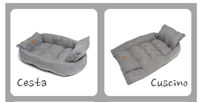Marco Arezio - Consulente materie plastiche -  Cuccia in cotone riciclabile 4