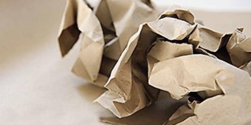 Marco Arezio - Consulente materie plastiche - Carta da Imballo riciclata